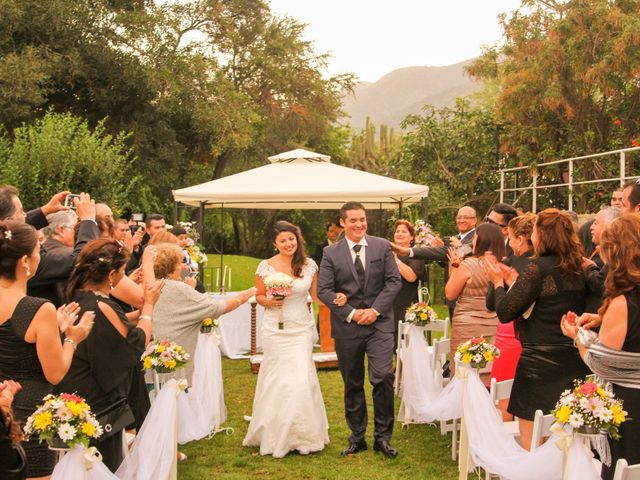 El matrimonio de Karina y Juan Pablo