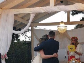 El matrimonio de Claudia  y Marco  3