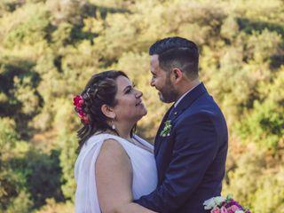 El matrimonio de Romina y Carlos