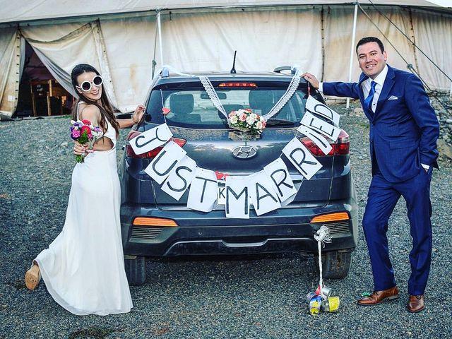El matrimonio de Evelyn  y Andrés