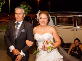 El matrimonio de Natali y Cristofer 1
