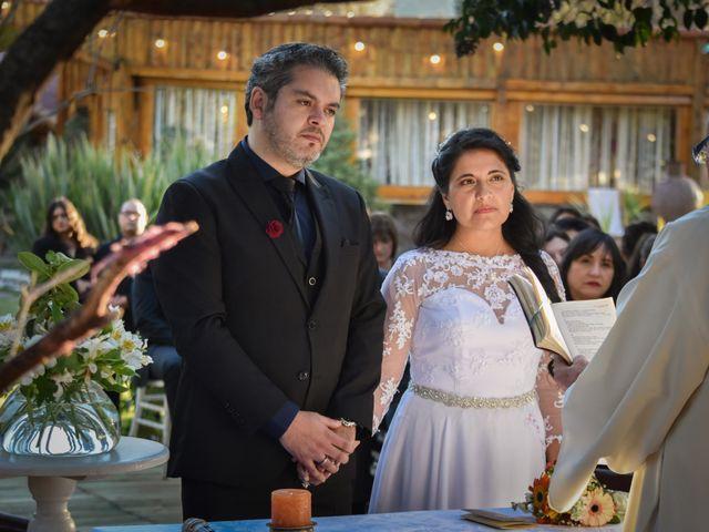El matrimonio de Enzo y Linda en San José de Maipo, Cordillera 9