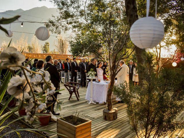 El matrimonio de Enzo y Linda en San José de Maipo, Cordillera 11