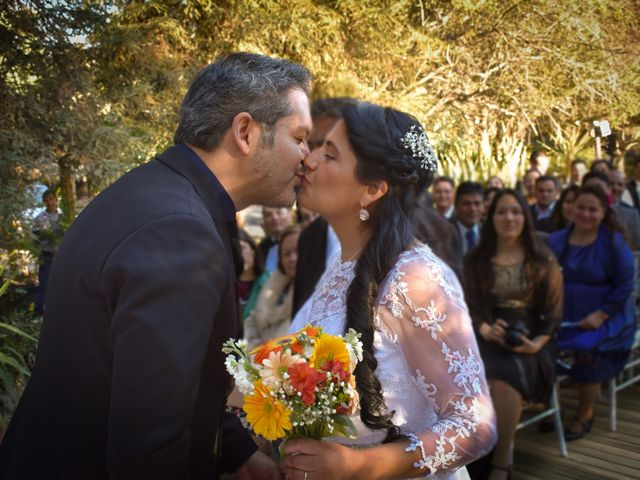 El matrimonio de Enzo y Linda en San José de Maipo, Cordillera 13