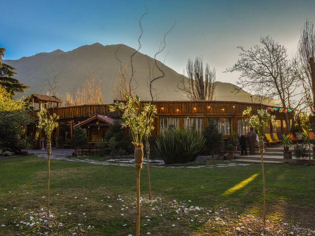 El matrimonio de Enzo y Linda en San José de Maipo, Cordillera 17