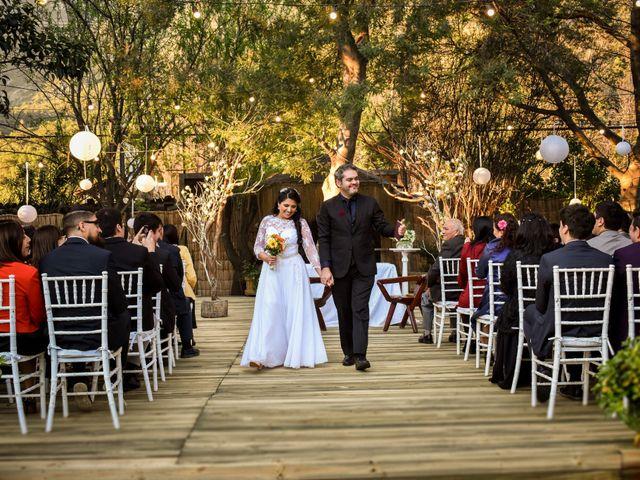 El matrimonio de Enzo y Linda en San José de Maipo, Cordillera 18
