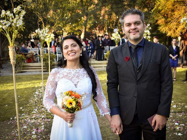 El matrimonio de Enzo y Linda en San José de Maipo, Cordillera 19