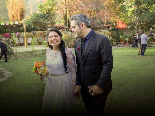 El matrimonio de Enzo y Linda en San José de Maipo, Cordillera 20