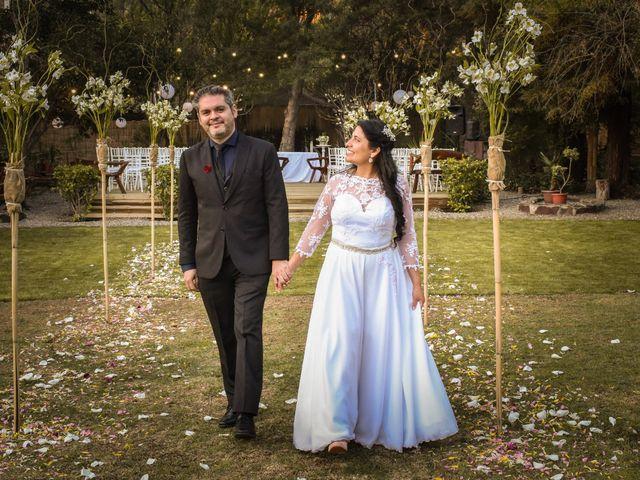El matrimonio de Enzo y Linda en San José de Maipo, Cordillera 22