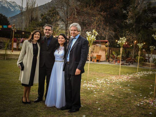 El matrimonio de Enzo y Linda en San José de Maipo, Cordillera 23