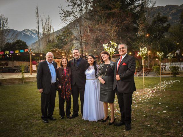 El matrimonio de Enzo y Linda en San José de Maipo, Cordillera 24