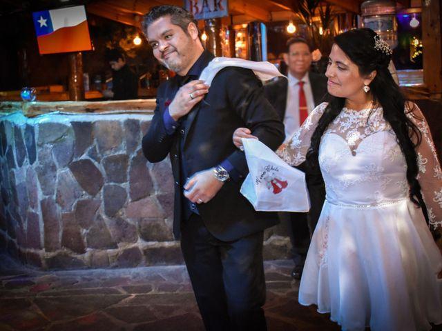 El matrimonio de Enzo y Linda en San José de Maipo, Cordillera 32