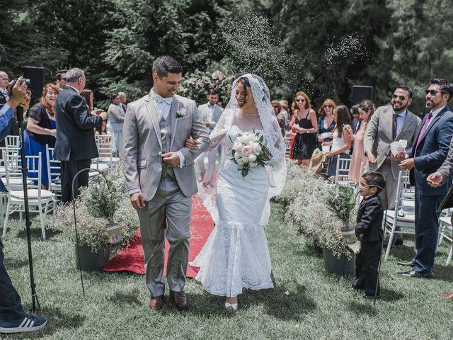 El matrimonio de Manuel y Génesis