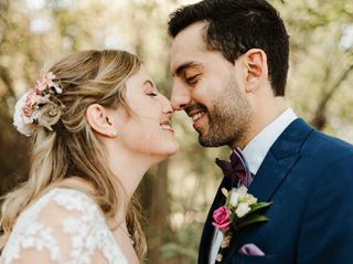 El matrimonio de Juan y Marcela