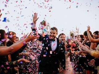 El matrimonio de Dani y Javier