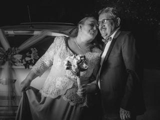 El matrimonio de Violeta y Hernan