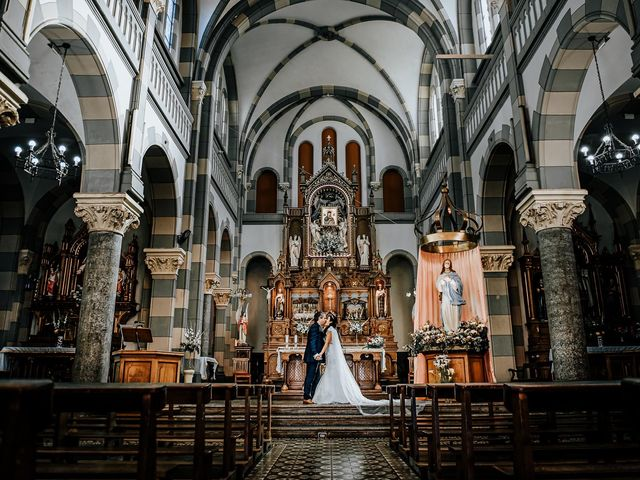 El matrimonio de Valezka y Jean Paul