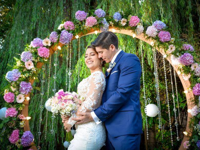 El matrimonio de Rodrigo y Osmely