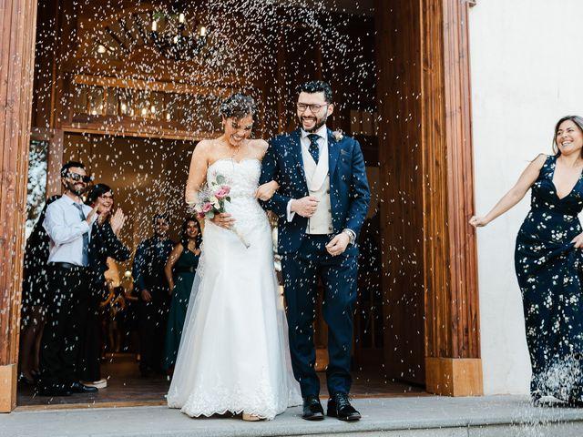 El matrimonio de Natalia y Raúl