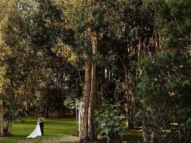 El matrimonio de Raúl y Natalia en El Monte, Talagante 1