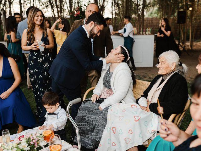 El matrimonio de Raúl y Natalia en El Monte, Talagante 95