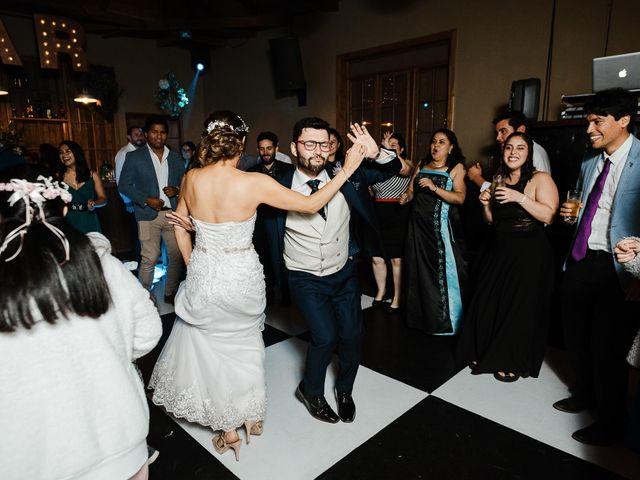 El matrimonio de Raúl y Natalia en El Monte, Talagante 138