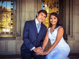 El matrimonio de Ana y Fernando 1