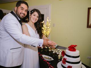 El matrimonio de Massiel y David