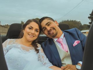 El matrimonio de Marjorie y Fabian