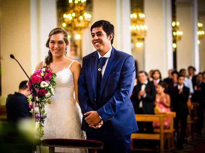 El matrimonio de Natalie y Marcelo