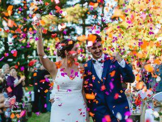 El matrimonio de Gabriela y Alonso