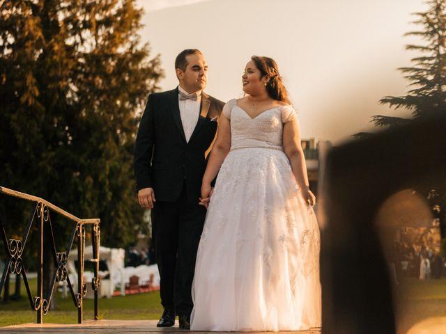 El matrimonio de Karina y Tomás