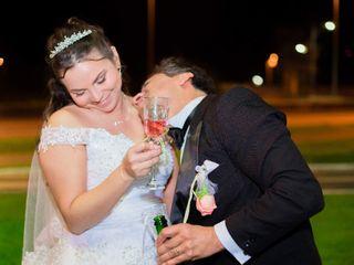 El matrimonio de Cristina y Mauricio