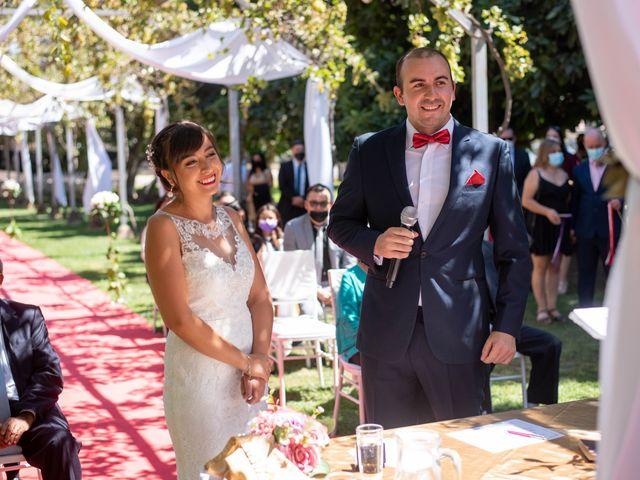 El matrimonio de Karen y Jonathan en Maipú, Santiago 1