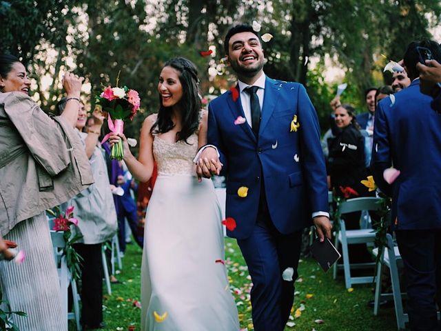El matrimonio de David  y Myriam