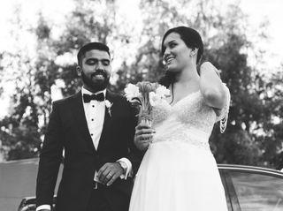 El matrimonio de Myriam y Benjamín