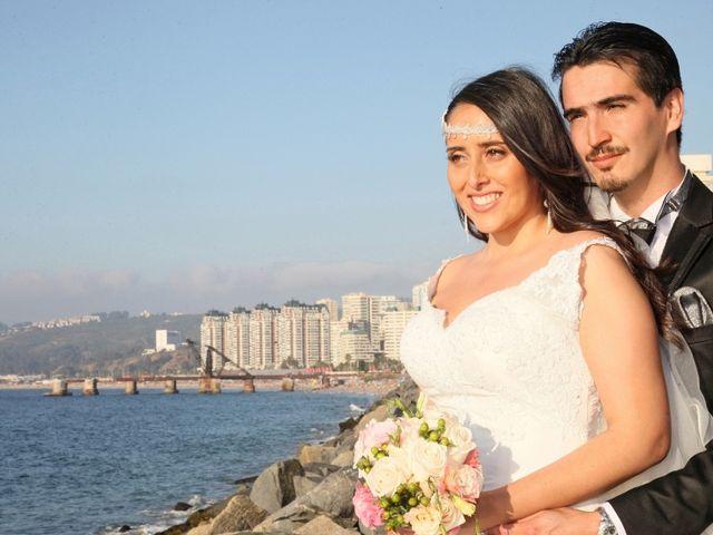 El matrimonio de Daniela y Martín