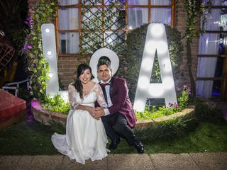El matrimonio de Angélica y Lester