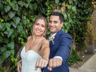 El matrimonio de María Paz y Felipe