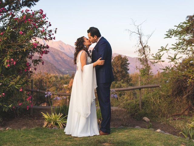 El matrimonio de Nicolás y Daniela en Pirque, Cordillera 21