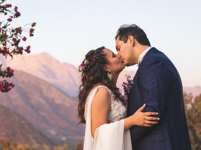 El matrimonio de Nicolás y Daniela en Pirque, Cordillera 1