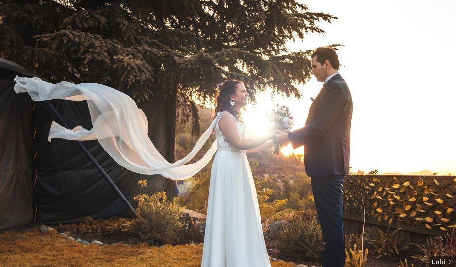 El matrimonio de Nicolás y Daniela en Pirque, Cordillera