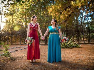El matrimonio de Victoria y Claudia