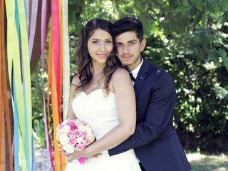 El matrimonio de Camila y Branco