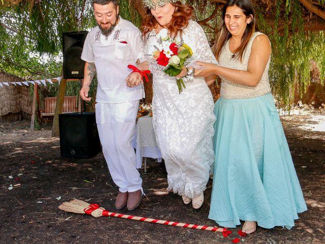 El matrimonio de David y Gabriela en Lampa, Chacabuco 2