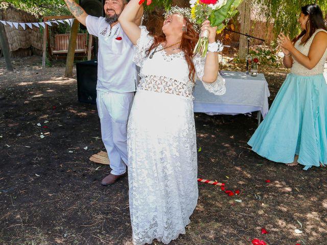 El matrimonio de David y Gabriela en Lampa, Chacabuco 3