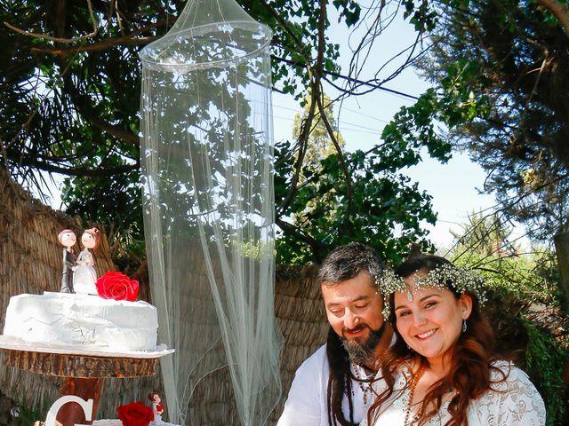 El matrimonio de David y Gabriela en Lampa, Chacabuco 11