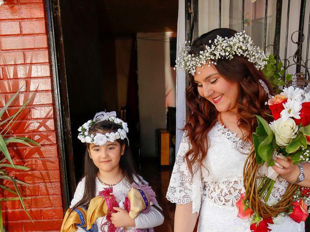 El matrimonio de David y Gabriela en Lampa, Chacabuco 13