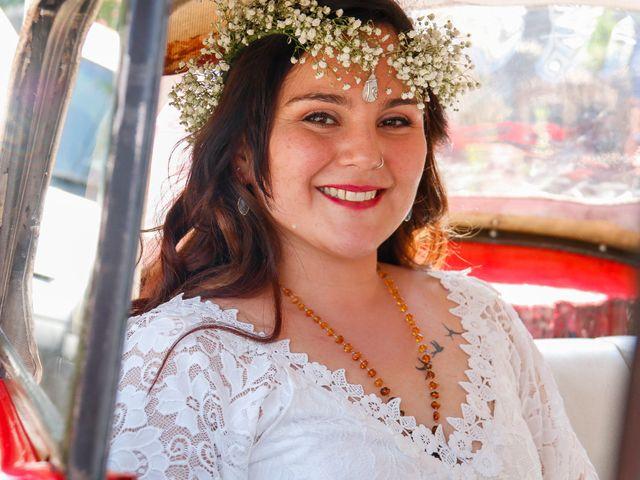 El matrimonio de David y Gabriela en Lampa, Chacabuco 18