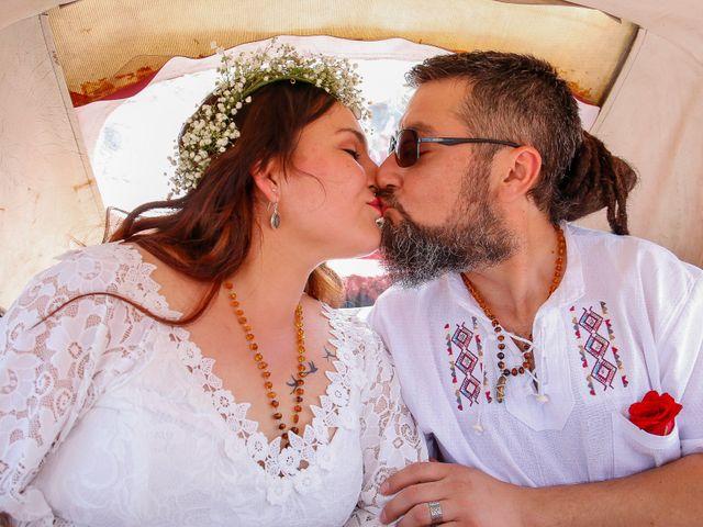 El matrimonio de David y Gabriela en Lampa, Chacabuco 19